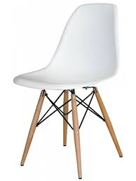 amazon com mid century modern eames style chairs 4 pack white