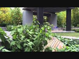 gardens at the melbourne flower and garden show 2015 youtube