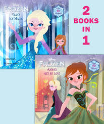 anna u0027s act love elsa u0027s icy magic disney frozen pictureback