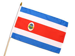 Flag Costa Rica Stockfahne Ca 45x30cm Super Fanshop