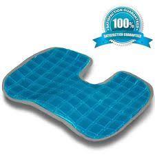 orthopedic gel seat pad cushion memory foam coccyx support back