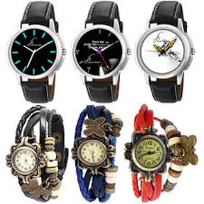 vintage bracelet watches images Buy combo of 3 stylish graphic watches for men and 3 different jpg