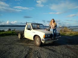 nissan datsun 1984 my girlfriend u0027s 1984 datsun 720 vintagejapaneseautos