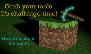 Challenge Minecraft Minecraft Challenges Minecraft