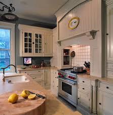 river rock ralph lauren paint kitchen transitional with dark wood