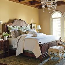 beauvier french cane bed frontgate traditional beds by