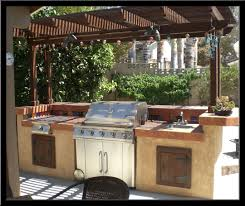 backyard barbecue home outdoor decoration