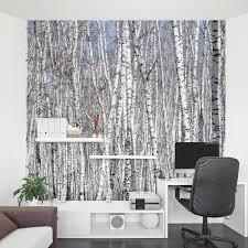 white birch trees wall mural wallums bedroom ideas pinterest