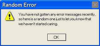 40 error messages you ve never seen before hongkiat