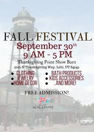 fall festival at thanksgiving point presented by utah bloom