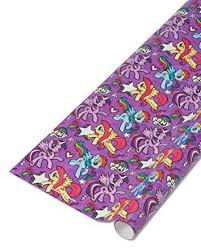 my pony christmas wrapping paper american greetings purple my pony wrapping paper 22 5 sq