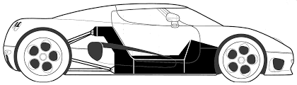 koenigsegg one drawing koenigsegg car blueprints die autozeichnungen les plans d