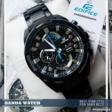 Jam Tangan Casio Chrono best seller jam tangan casio edifice efr 540bk sangat elegan