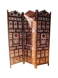 Moroccan Room Divider Carved Wood Moroccan Room Divider Interior Design Nousdecor