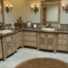 Custom Bathroom Vanities Online by Handmade Custom Faux Finish Master Bathroom Cabinets By Westend