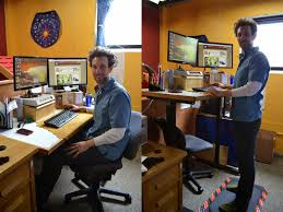 Standing Sitting Desk by Is Sitting Killing Your Running Workout My Awesome Standing Desk