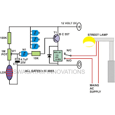 automatic night light with sensor to build automatic night light control or switch