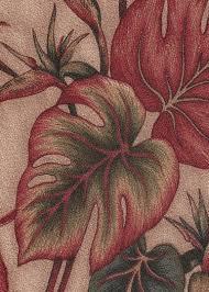 Upholstery Weight Fabric Makaii Barkcloth Hawaii Fabrics Vintage Style Hawaiian Fabrics