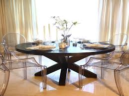 acrylic dining room table acrylic dining chairs luxury this elegant dining room features a