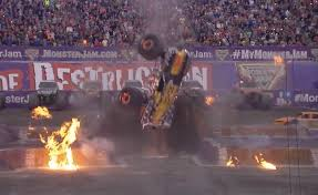 monster truck backflip videos does this count as a double backflip maximum destruction airs it