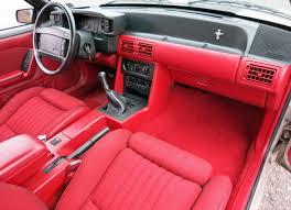 Fox Body Black Interior 1990 Ford Mustang Connors Motorcar Company
