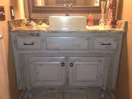 bathroom cabinet paint ideas distressed bathroom vanity started with graphite gray chalk paint