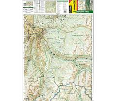 aspen map national geographic aspen independence pass trail map colorado