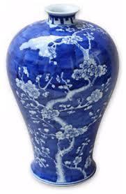 Cobalt Blue Vases Blue And White Cherry Blossom Vase Asian Vases By William Sung