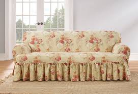sure fit ballad bouquet by waverlytm one piece t cushion slipcovers