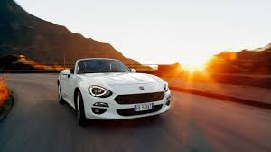 Fiat U0027s 124 Spider Captures The U002760s Vibe With A Little Help From