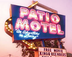 Patio Motel Chicago U0027s Neon Signs Shine In New Book U0027good Old Neon U0027 Tourism