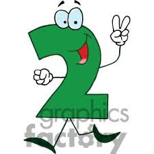 2 cartoon number 2 green holding clipart panda free clipart images