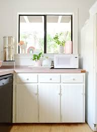 what color hinges on white cabinets our freshly painted mauve kitchen cabinets and a trick for
