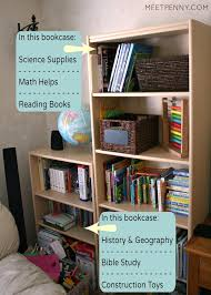 Storing Toys In Living Room - organizing tips when you homeschool in a small home meet penny