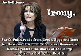 Anti Obamacare Meme - if only sarah palin would read malialitman com