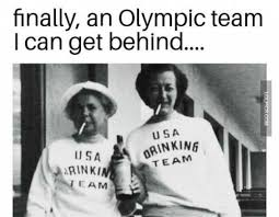 Drinking Meme - an olympic team i can get behind drinking meme team usa funny