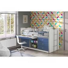 lit combin avec bureau lit combiné avec bureau bleu 90x200 terre de nuit bureaus and lights