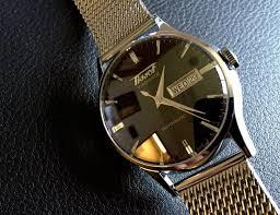 stainless steel bracelet tissot images Tissot visodate milanais automatic hirsch leather strap jpg
