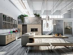 loft stands out as a kitchen with a vintage twist decidedly