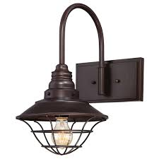 Westinghouse Lighting Fixtures Westinghouse 1 Light Interior Rubbed Bronze Wall Fixture With