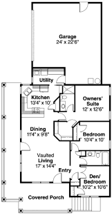 Craftsman Style House Floor Plans by 75 Best Small House Plans Images On Pinterest Small House Plans