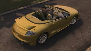 modified mitsubishi eclipse spyder image mitsubishi eclipse gt spyder rear jpg midnight club