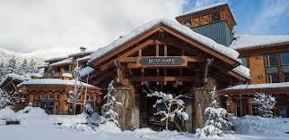 best winter resort hotels nita lake lodge canada