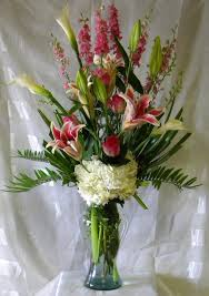 Flowers Delivered With Vase Enchanted U0027s Pasadena Florist 832 850 7677 Flower Delivery Tx 77504