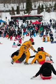 laskiainen shrovetide is a mid winter sliding festival in