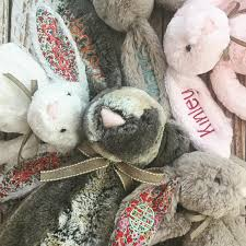 personalized bunny easter basket large personalized jellycat bunny rabbits easter gift