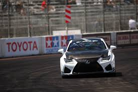 toyota lexus sports car video ride a super scary street circuit with scott pruett