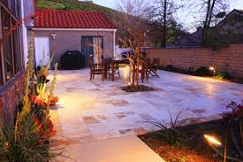 Lighting For Patios How Landscape Lighting Around A Patio Walkway Or Driveway Will