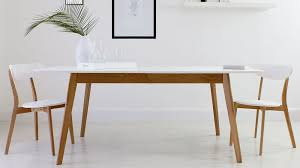 Oak Dining Table Uk Alluring Oak And White Extending Dining Table 8 Seater Uk In