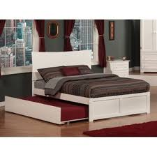 How To Build A King Size Platform Bed With Drawers by Trundle Beds You U0027ll Love Wayfair